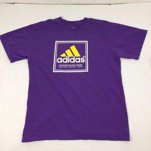 Men's Adidas Graphic Logo T Shirt L